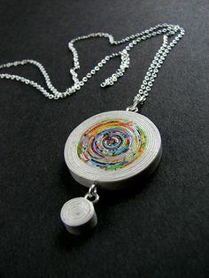 Recicle! Reuse! Refaça! DIY : Lindas bijuterias de papel reciclado ⋆ De Frente Para O Mar