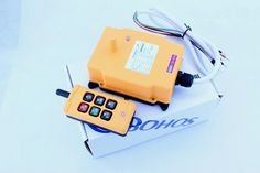 79.04$  Watch now - http://aliefj.worldwells.pw/go.php?t=32614241027 - 1pcs HS-6 AC/DC12V 6 Channels Control Hoist Crane Radio Remote Control Sysem Industrial Remote Control Brand New