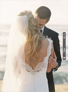 lace wedding dress from Blush Bridal Couture | CHECK OUT MORE IDEAS AT WEDDINGPINS.NET | #bridesmaids