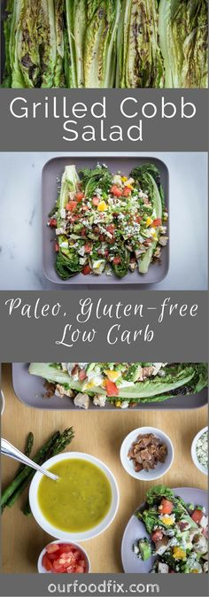 Paleo recipes | Gluten free recipes | Low carb recipes | Party food | Memorial Day | BBQ| Football food | Salad recipes | Party recipes | Grilled dishes | Cobb salad | Make ahead | Simple meal | Under 30 minute meal | Easy dinner