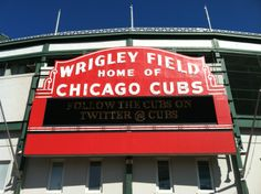 Growing up a Die Hard Cubs Fan... I hung out a lot there with my friends... I also worked there for 3 years while in college... There's nothing like home of baseball than Wrigley Field...