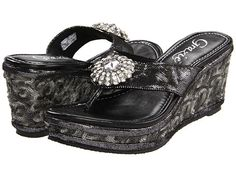 f63c03eef0fb25 New Grazie Wedge with Bling! www.MarloMillerBoutique.com Platform Shoes