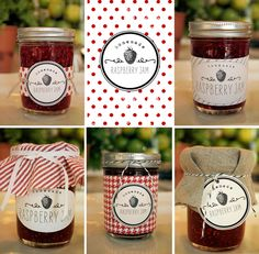 free printable primitive jar labels | Parsimonia {Secondhand With Style}: Fav Freebie: Jam Labels