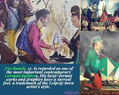 Blogpost | Perspreview | Tentoonstelling Neo Rauch Dromos | Museum de Fundatie, in Zwolle | Via:🎉 BloggendBewegen💃 (@LiRiAnArt) | Twitter