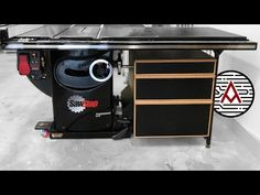 DIY Table Saw Storage Cabinet | Plans - YouTube Quick Grip Clamps, Table Saw Accessories, Diy Table Saw, Cabinet Plans, New Shop, Woodworking, How To Plan, Storage, Projects