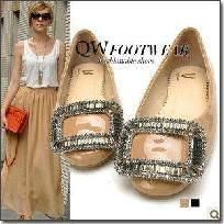 The Queene ~ Now available for sale on yardsellr :D  $50 FREE SHIPPING #shoes #flat shoes #dressy #casual #flats www.thebudgetfind.com