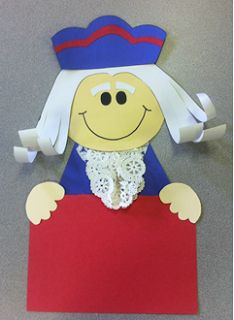 George Washington Craftivity...this one is just too cute!
