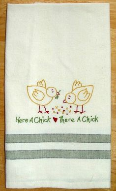Chicken Towel