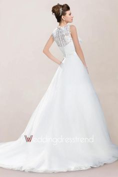 Back lace detail is cool and front shoulders but not sure diana would like all the chiffon. Wholesale and Retail Romantic Appliqued Ruched Princess Wedding Dress with Buttons and Sash - Beautiful Wedding Dresses Wholesale and Retail Online