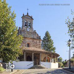 Iglesia de San Juan de Amandi #Villaviciosa #CaminodeSantiago #Asturias #ParaisoNatural https://www.facebook.com/natural.hotel.spain
