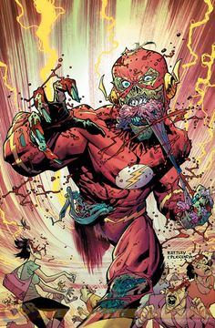 Flash #35 by Ryan Ottley and F. Plascenlya *