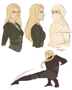 Amaaazing Celaena fanart! [Throne of Glass Celaena by taratjah on DeviantArt]
