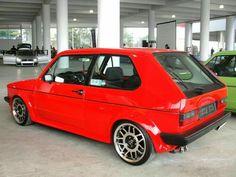 Mk1 red rear