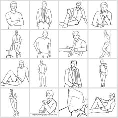 Posing Guide for taking Great Photos of Men. Visit http://robflorexplore.com for more photo tips & Tricks.