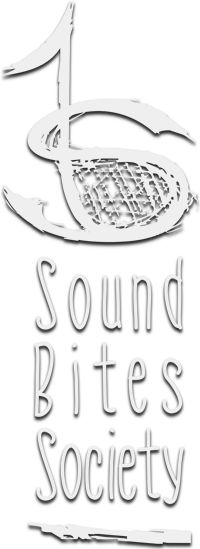 Sound Bites Society inverted logo