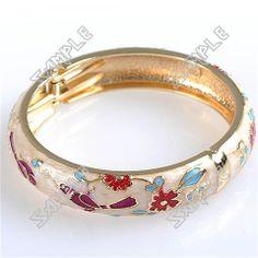 Diameter Bird & Flower Patterned Split Cuff Bangle Bracelet Bangle Bracelets, Bangles, Flower Patterns, Bird, Jewelry, Bracelets, Bracelets, Doodle Flowers, Jewlery