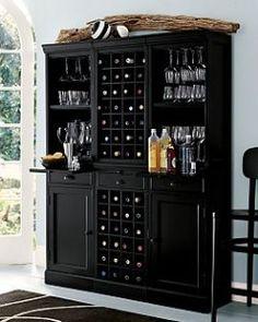 wine bar hutch