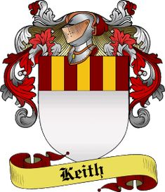 Keith Family Crest and History