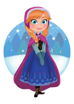 DeviantArt: More Like Elsa and Anna chibi by Disney Princess Drawings, Disney Princess Art, Disney Princess Pictures, Disney Fan Art, Disney Drawings, Princess Anna, Disney Girls, Baby Disney, Disney Love