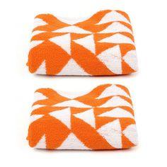 Albers E Hand Towel Orange 2 Pk featured on Fab.