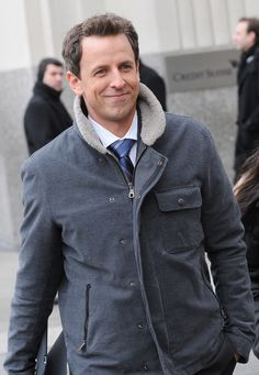 seth meyers love his skits Funny People, Good People, Amazing People, Hot Actors, Actors & Actresses, Gorgeous Men, Beautiful People, Men Tv, Seth Meyers