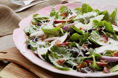 Creamy Balsamic-Pear Salad recipe