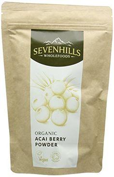 Sevenhills Wholefoods Organic Raw Acai Berry Powder 100g