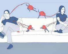É triste quando o orgulho enfrenta o amor...