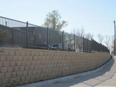 Iron Fences, Sidewalk, Deck, Outdoor Decor, Home Decor, Gym, Fence, Decoration Home, Room Decor