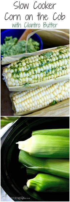 Tender and tasty Corn on the Cob cooked in the slow cooker. The Foodie Affair