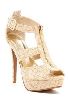 Elegant Footwear Paton High Sandal