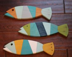 Fish Decor Nursery Coastal and Beach Decor by justbeachyshop