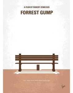 « Forrest Gump » de Robert Zemeckis - Quand les internautes relookent les affiches de films - Elle