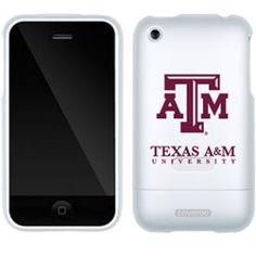"""Texas A Iphone 3g/3gs """"Texas A University"""" Design Coveroo In White    Texas A Iphone 3g/3gs """"Texas A University"""" Design Coveroo In White"""