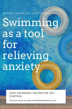 When people think of swimming, they imagine water splashing everywhere, they may smell chlorine, but they probably don't think of swimming as a tool for relieving anxiety. But it is! Learn about it with this new blog post! #anxiety #mentalhealth #anxietytips #swimming #exercise #workouts What Is Anxiety, Anxiety Tips, Anxiety Help, Mental Health Advocate, Mental Health Resources, Mental Health Awareness, Natural Anti Anxiety, Natural Healing