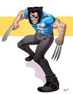 Wolverine grrr by ~seniorgoldenspork on deviantART