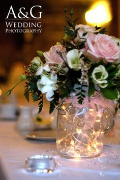 vase lighting. vase with fairy lights lighting
