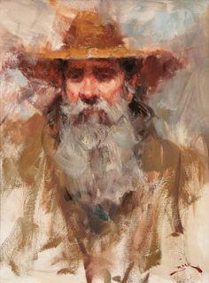 Impressionist Lady | Dan Beck - American Impressionist painter