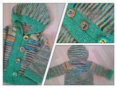Knittybots Button-Up Hoodie