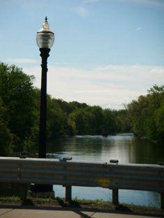 Grand River in Dimondale, Michigan