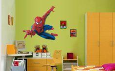Superhero Wall Decal Super Hero Wall Stickers by DecalDesignStudio, $14.99