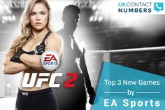 EA is best known for offering some of the world's most admired games, such as FIFA, Madden, Battlefield, UFC, etc. To know about the upcoming releases one can use the EA Sports contact number and reach directly to their customer care representatives.