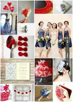 Love this - Red, White, and Something Blue | CHECK OUT MORE GREAT RED WEDDING IDEAS AT WEDDINGPINS.NET | #weddings #wedding #red #redwedding #thecolorred #events #forweddings #ilovered #purple #fire #bright #hot #love #romance #valentines