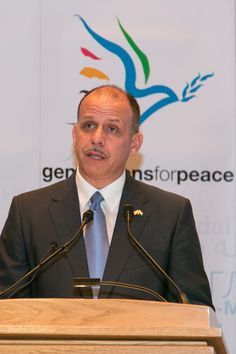29 July 2013 for the launch of Generations For Peace (GFP) in the USA