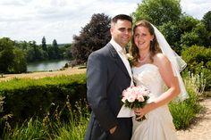 Matt and Caroline had glorious summer day for their wedding