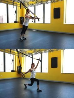 lunge to fly