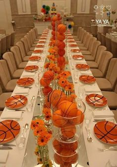 Baby Shower Ides For Boys Sports Basketball Center Pieces 58 Ideas – Baby Shower İdeas 2020 Basketball Baby Shower, Sport Basketball, Basketball Birthday Parties, Sports Birthday, Sports Party, Boy Birthday Parties, 10th Birthday, Basketball Tattoos, Basketball Videos
