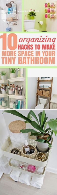 15 Creative Storage DIY Ideas For Modern Bathrooms  #Bathroomstorage #Bathroomideas