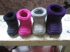 Ravelry: Striped Baby Boots by Sarah Owens