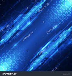 Vector Abstract Digital Future Technology Concept, Background - 255112123 : Shutterstock